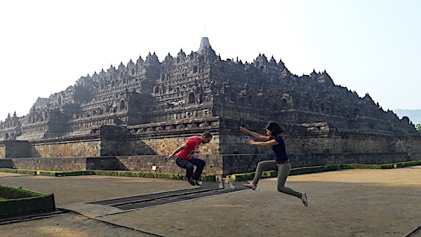 Actiefoto Borobudur