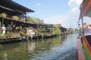 Boottocht in Bangkok