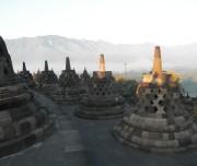 Borobudur tempel bij Yogyakarta