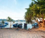 Boten bij Lombok