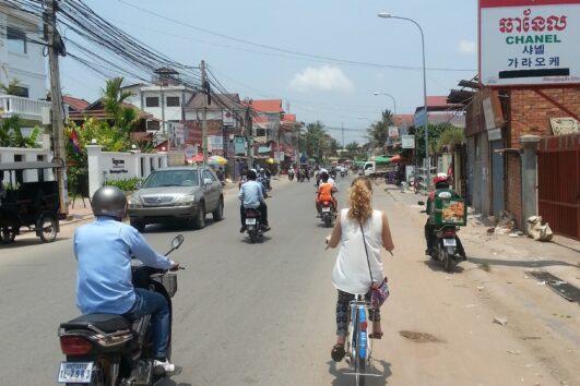 Fietsen in Siem Reap