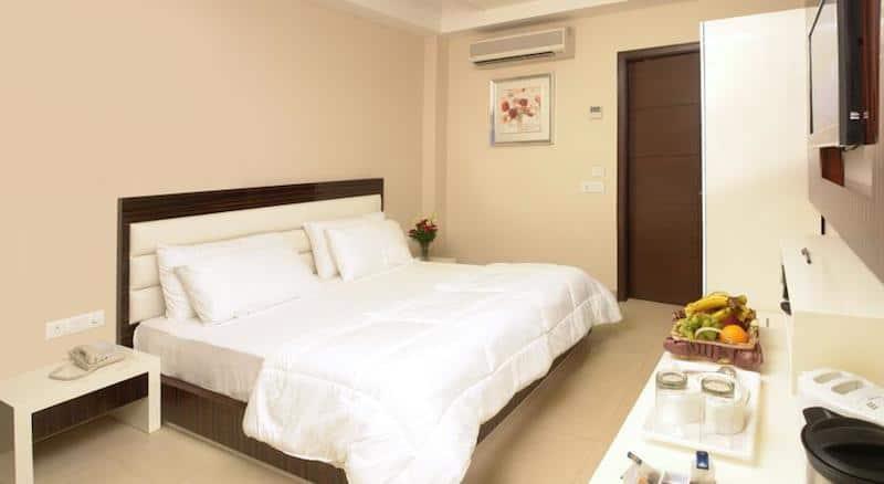 Goed hotel Delhi Gulnar