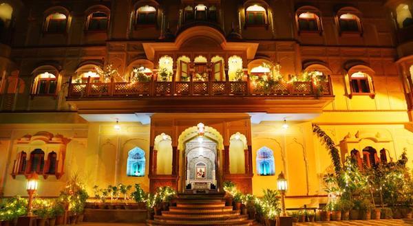 Goed hotel Jaipur Pearl Heritage