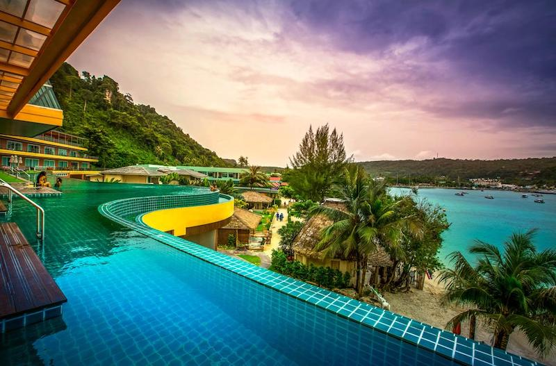 Infinity pool Koh Phi Phi
