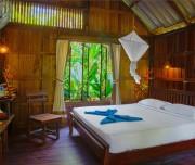 Kamer Rain Forest Cottages van Khao Sok Riverside Cottages