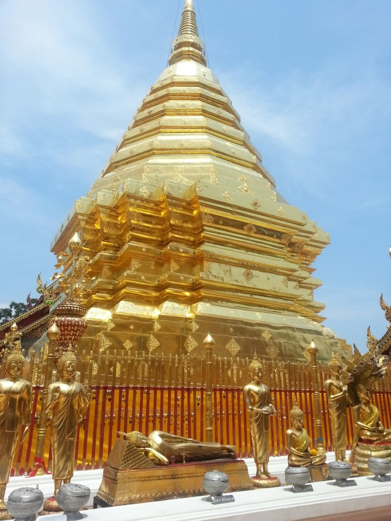 Wat Phrathat Doi Suthep in Chiang Mai