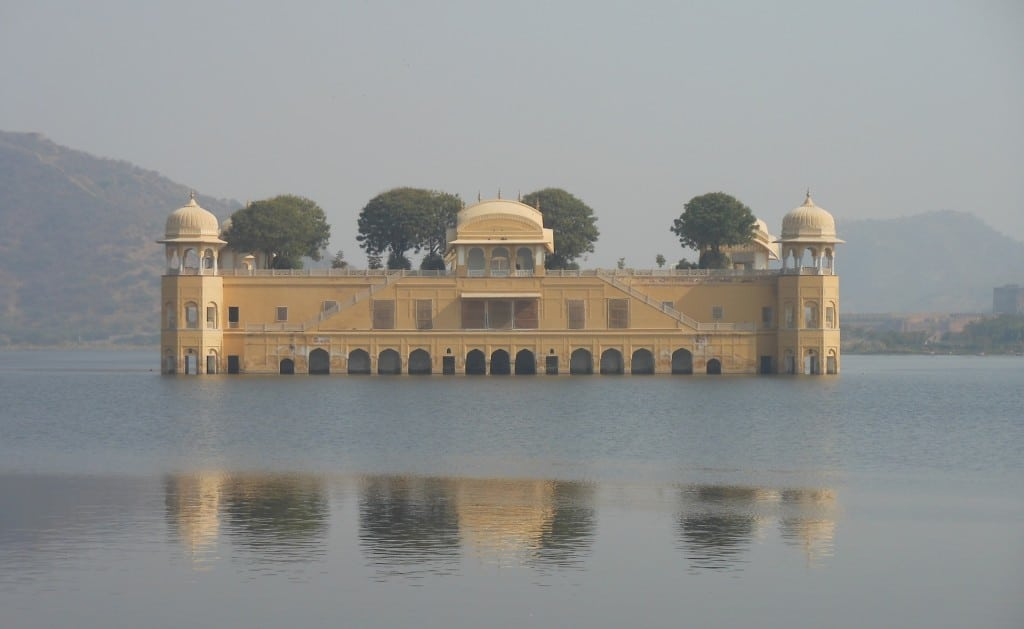 Waterpaleis in Jaipur