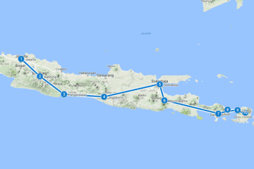 route java bali lombok