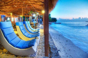Waterfront hotel in Gili air