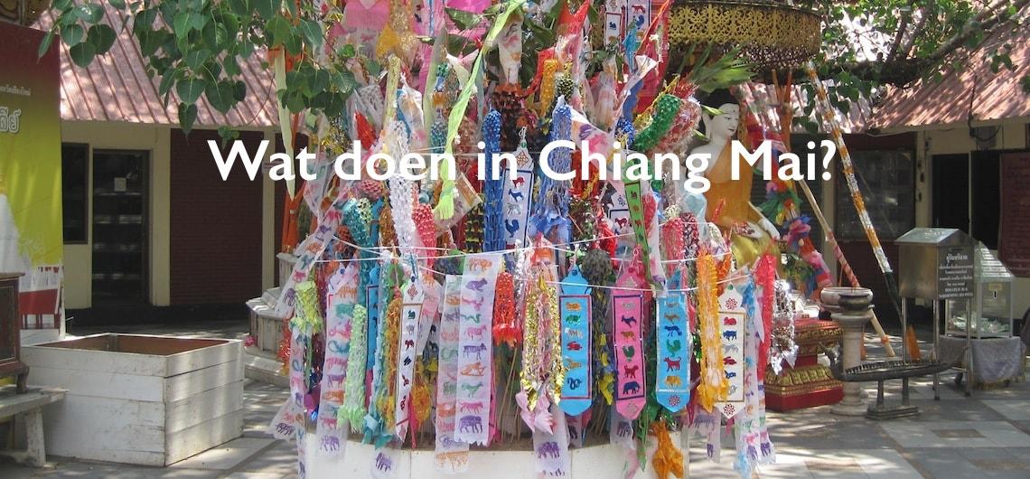 bezienswaardigheden in Chiang Mai