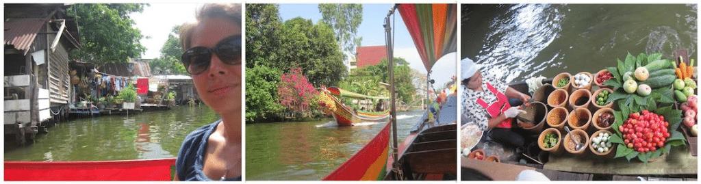 Boottocht Klongs en Taling Chan Floating market