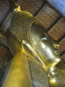 Liggende Boeddha bij Wat Pho
