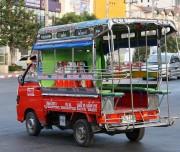 Taxi Songthaew in Hua Hin