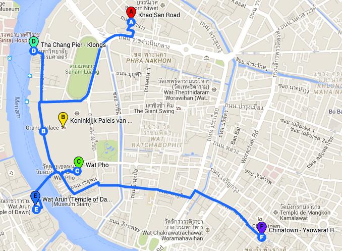 Top 5 bezienswaardigheden Bangkok