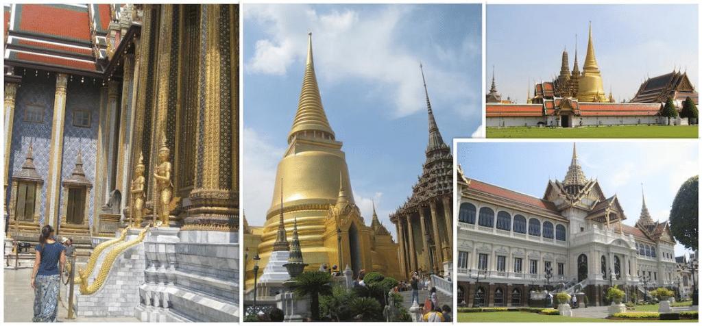 Wat Phra Kaew en grand palace bangkok