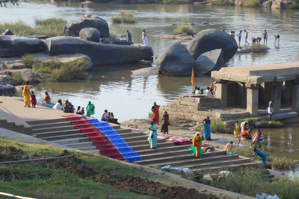 Rivier Hampi India