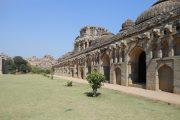 Elephant Stables Tempel Hampi India
