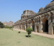 Elephant Stables Tempel Hampi India