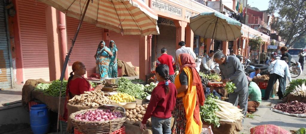 markt kraampje Jaipur