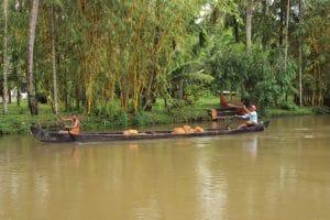 reisroute zuid india - backwaters kerala