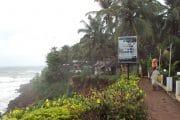 reisroute zuid india - varkala beach