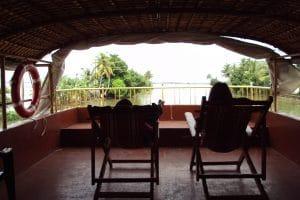 House boat backwaters
