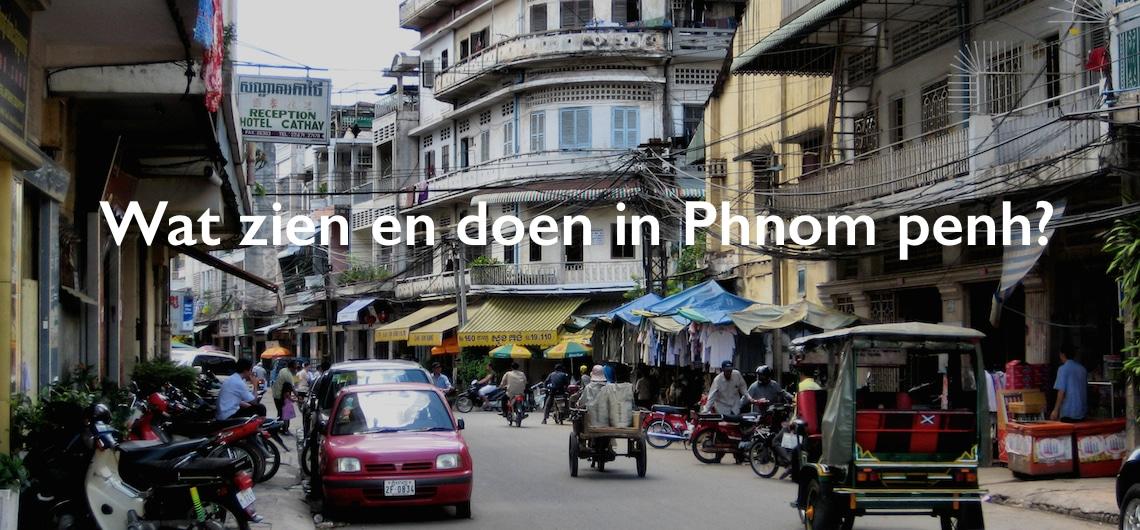 Bezienswaardigheden Phnom Penh