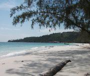 Koh Rong strand Cambodja