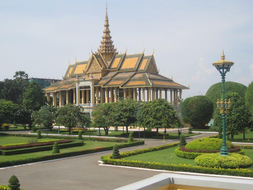 Koninklijk Paleis - Royal Palace Phnom Penh Cambodja
