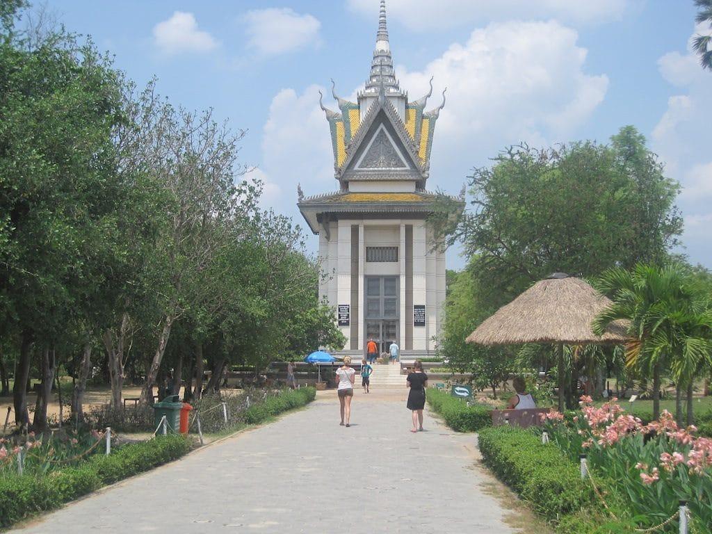 Killing Fields van Choeung Ek Cambodja