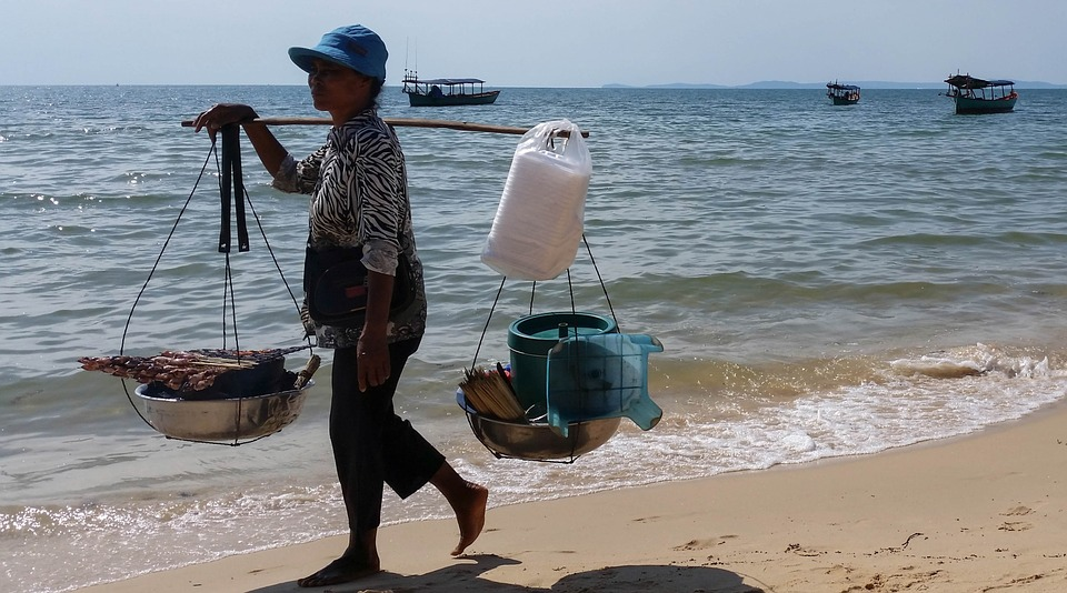 backpacken naar Sihanoukville