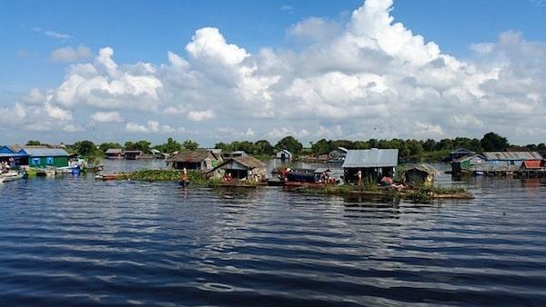 boot naar Battambang