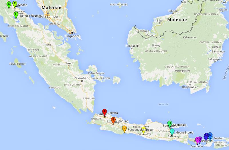 rondreis Indonesië zelf regelen