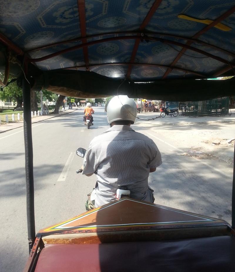 hoe kom je er Angkor Wat