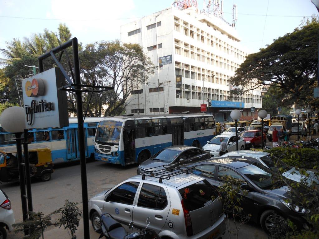 Verkeer in Bangalore