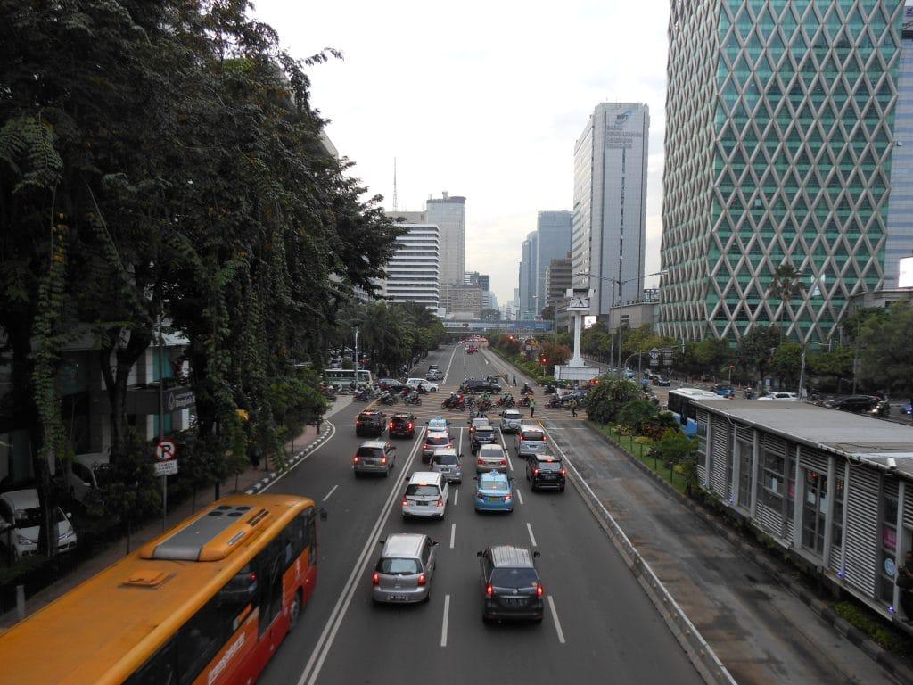 Verkeer in Jakarta