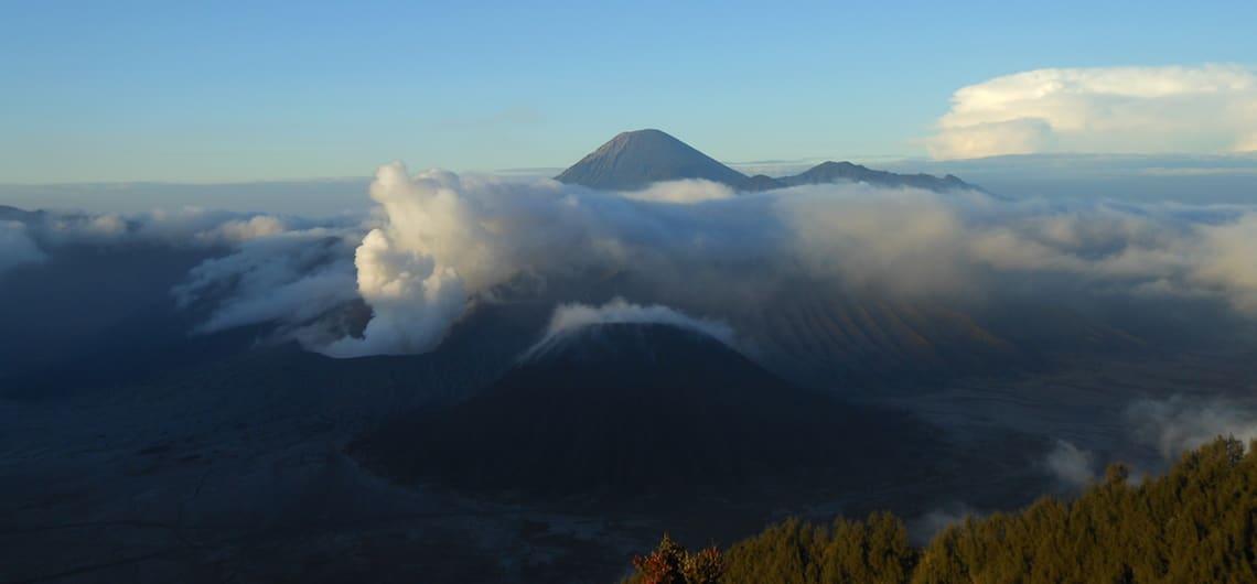 Bromo vulkaan bezoeken indonesie