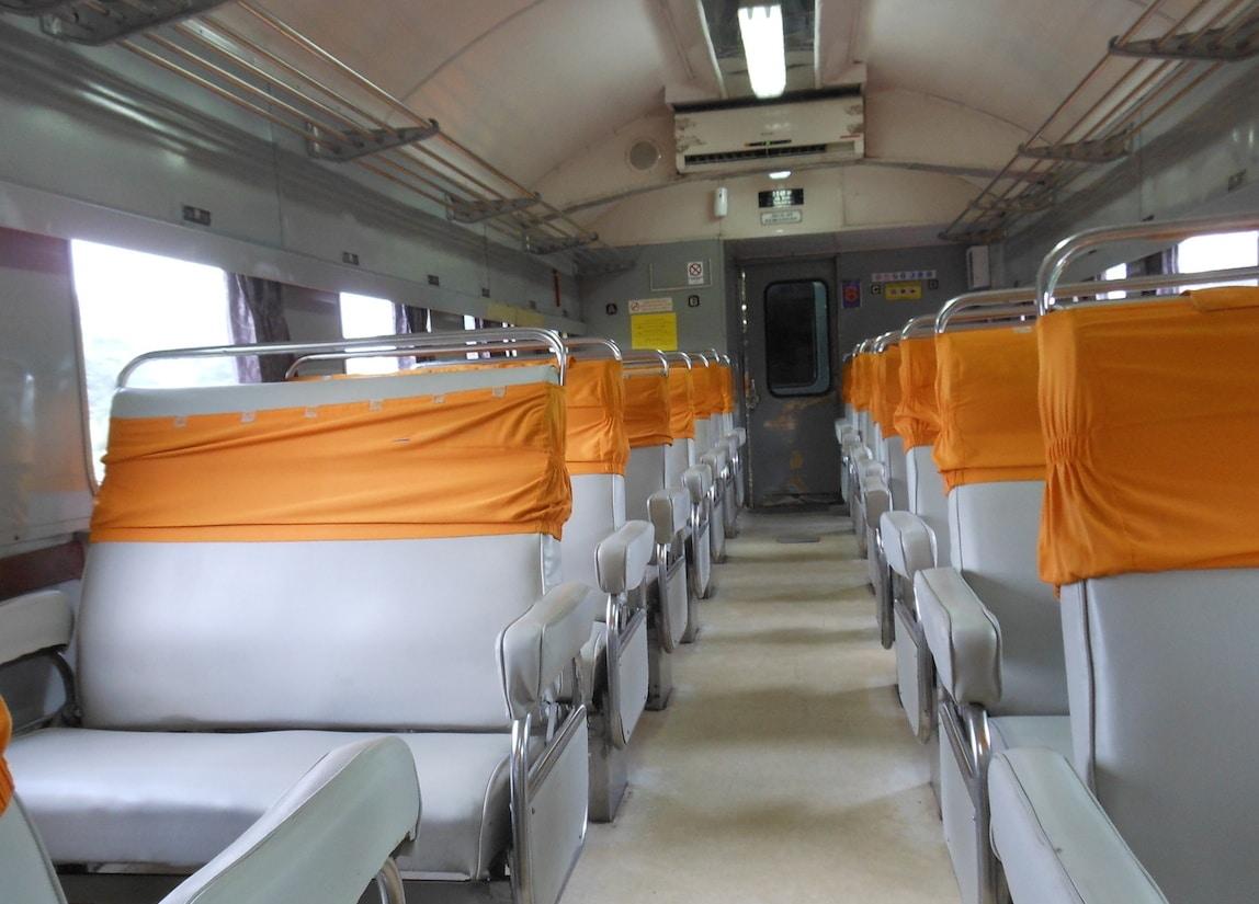 business class trein Indonesie