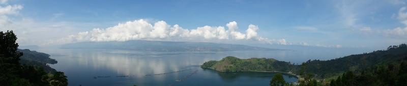Lake Toba op weg naar bukit lawang