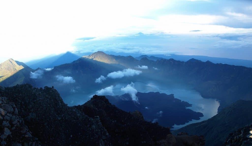 Rinjani vulkaan beklimmen