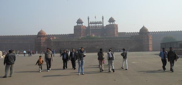 Rode fort Delhi