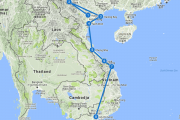 backpack route vietnam 3 weken