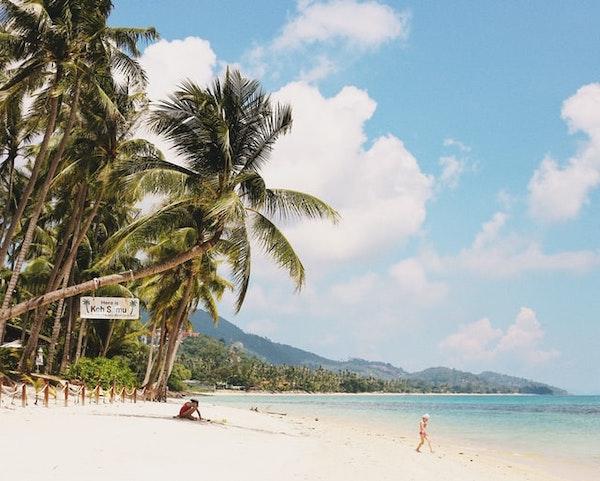 Koh Samui strand