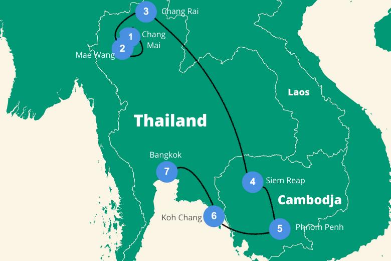 Rondreis Thailand Cambodja