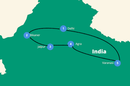 rondreis India 2 weken