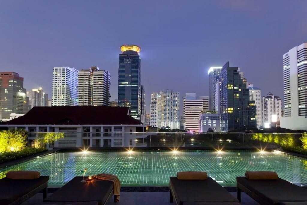 U Sukhumvit Bangkok zwembad