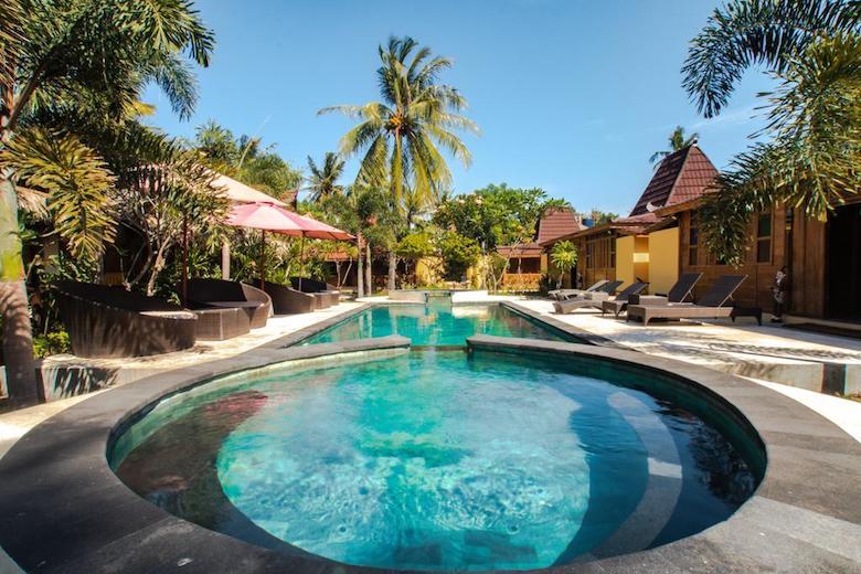 bungalow gili air