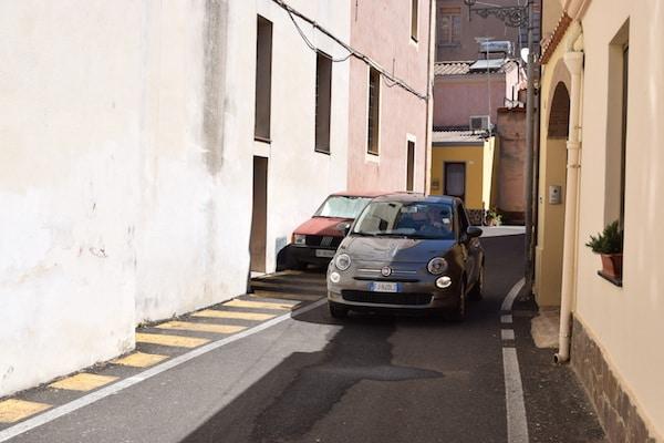 Auto Fiat 500 huren Sardinie