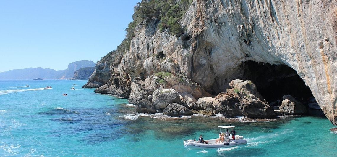 Reisroute Sardinië Italië
