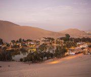 Woestijnstad Huacachina
